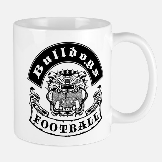Bulldogs Football2 Mugs