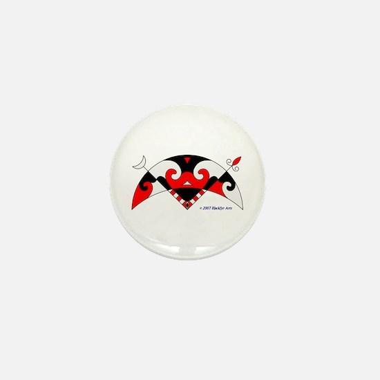 Pictish Crescent Mini Button
