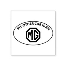My Other Car is an MG - Octogon Logo Sticker