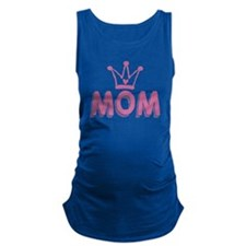 Mom Deserves A Crown Maternity Tank Top