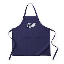 Kraft, Retro, Apron (dark)