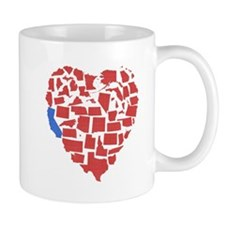 California Heart Mug