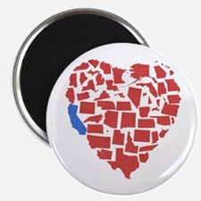 California Heart Magnet