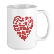 Connecticut Heart Mug