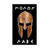 Molon labe 2c spartan helmet Single