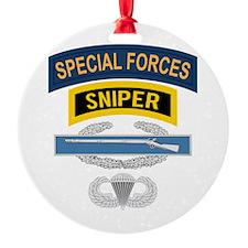 SF Sniper CIB Airborne Ornament