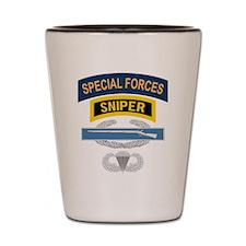 SF Sniper CIB Airborne Shot Glass