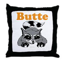 Butte, Alaska Throw Pillow