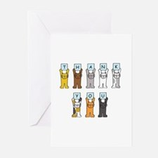 Thank you kittens. Greeting Cards