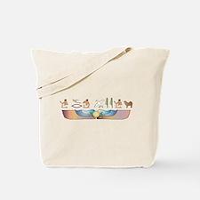 Mastiff Hieroglyphs Tote Bag