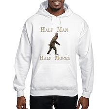 Half man half morel Hoodie