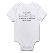 Mother's Day Bible Verse Exod Infant Bodysuit
