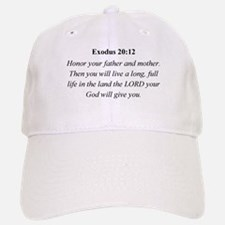 Mother's Day Bible Verse Exod Baseball Baseball Cap