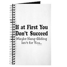 Don't Hang Glide Journal