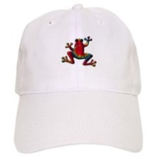 Tie Dye Frog Baseball Cap