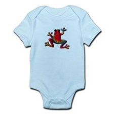 Tie Dye Frog Infant Bodysuit