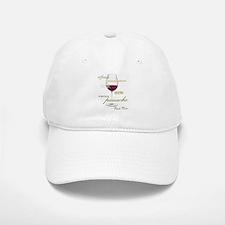 Pinot Noir Wine Baseball Baseball Cap