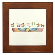 Sussex Hieroglyphs Framed Tile