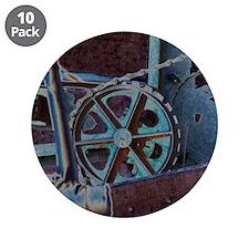 "Solar Steampunk 3.5"" Button (10 pack)"