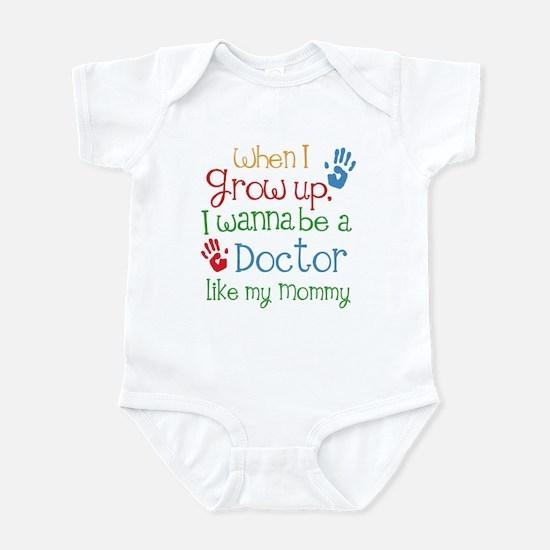 Doctor Like Mommy Infant Bodysuit