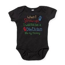 Dietician Like Mommy Baby Bodysuit