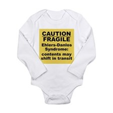 Ehlers-Danlos Syndrome Caution Fragile Body Suit