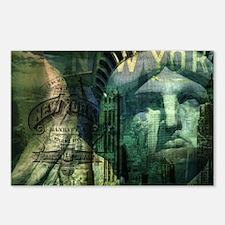 USA New York statue of liberty fashion Postcards (