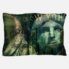 USA New York statue of liberty fashion Pillow Case
