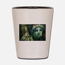 USA New York statue of liberty fashion Shot Glass