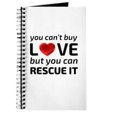 You Can't Buy Love Journal