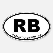 RB Redondo Beach Decal
