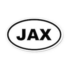 JAX Jacksonville Oval Car Magnet