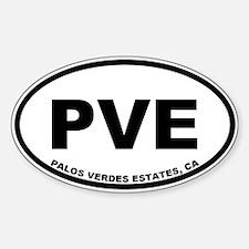 PVE Palos Verdes Estates Decal