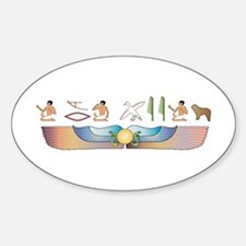SWD Hieroglyphs Oval Decal