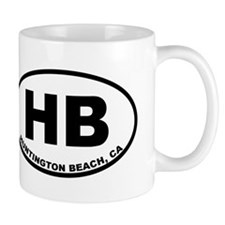 HB Huntington Beach Mugs
