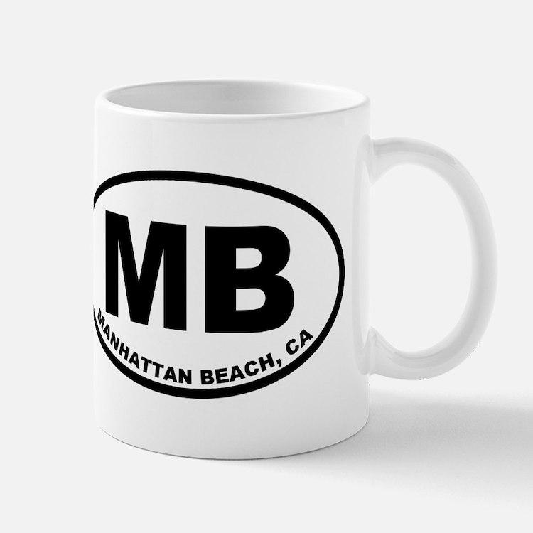 MB Manhattan Beach Mugs