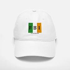 FBI Full Blooded Irish Baseball Baseball Cap
