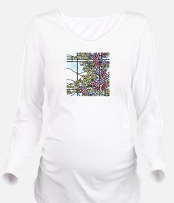 Floral Skylight - Fenway Gate Long Sleeve Maternit