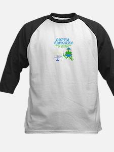 Hanukah Frog Baseball Jersey