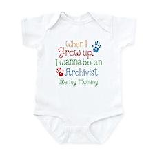 Archivist Like Mommy Infant Bodysuit