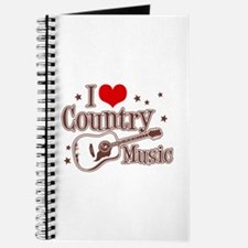 I Love Country Music Journal