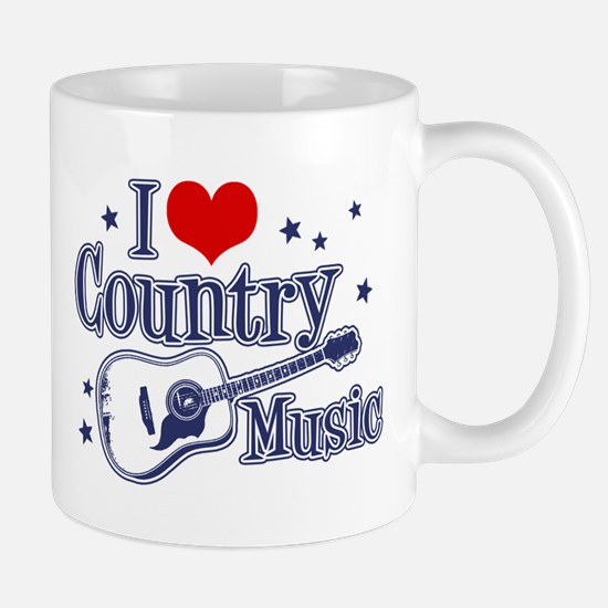 I Love Country Music Mug