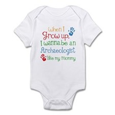 Archaeologist Like Mommy Infant Bodysuit