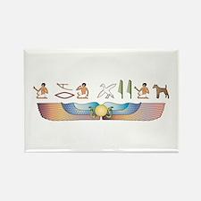 Foxie Hieroglyphs Rectangle Magnet (10 pack)