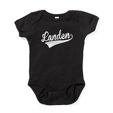 Landen, Retro, Baby Bodysuit