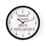Fiddle Wall Clocks