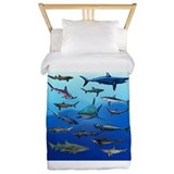 Shark Twin Duvet Covers