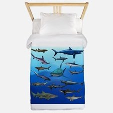 Shark Gathering Twin Duvet