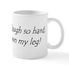 Sometimes I Laugh So Hard, Tears Run Down My Mugs