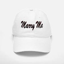 Marry Me Baseball Baseball Cap